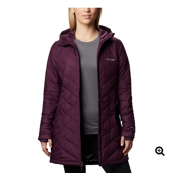 Columbia Women's Heavenly™ Long Hooded Jacket NWT